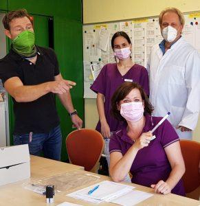 Testung auf das Coronavirus