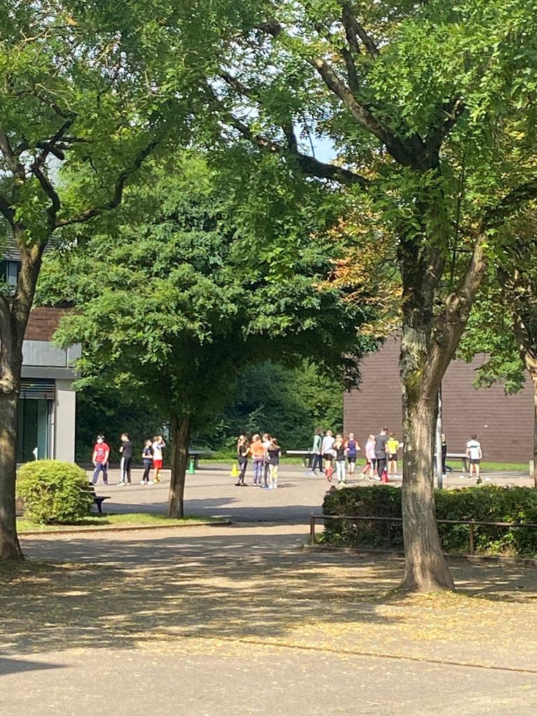 Realschule Kettwig Schulhof